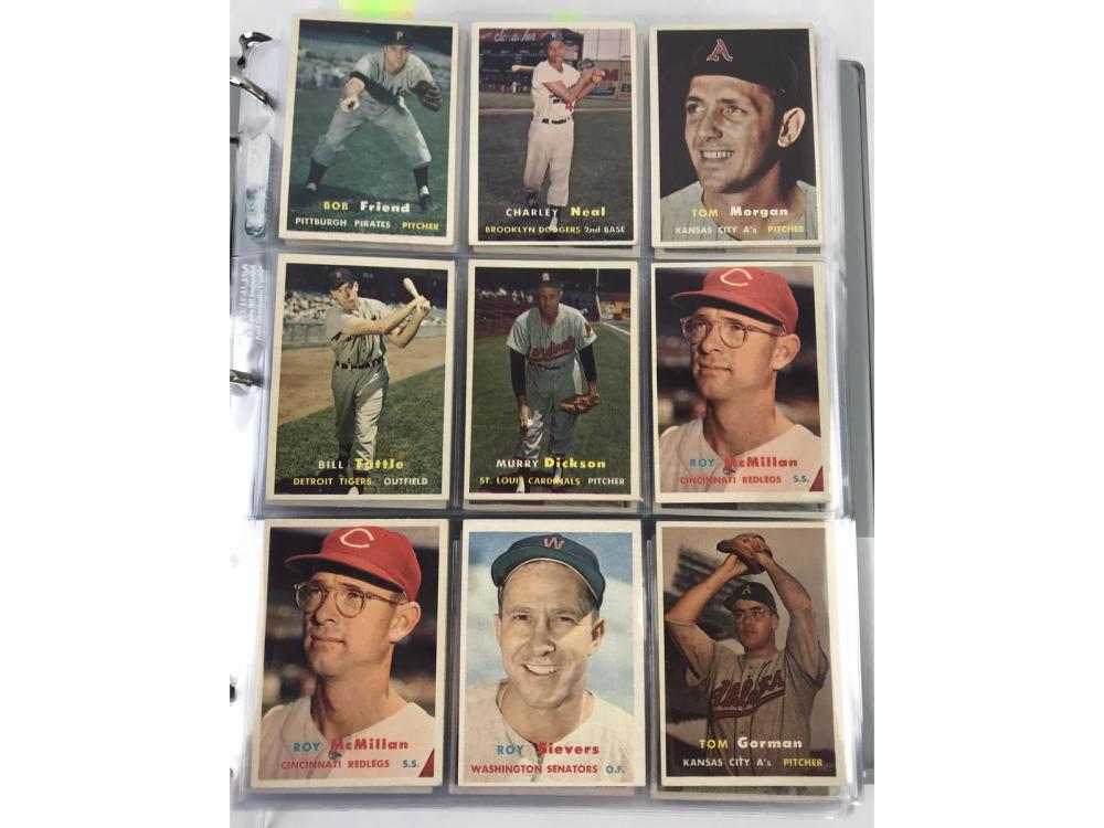 (414) 1957 Topps Baseball Collection