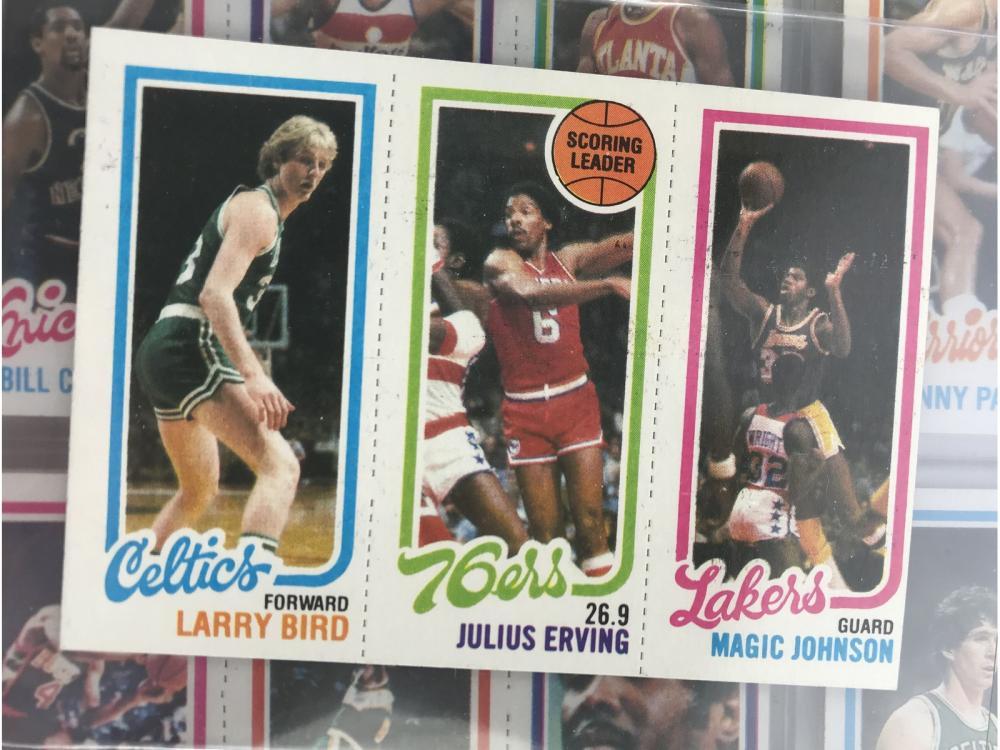 1980 Topps Basketball Set (bird/magic Rc)
