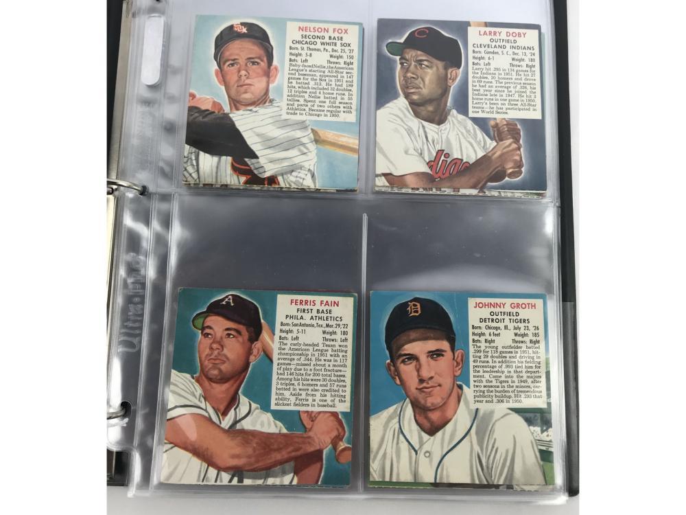(48/48) 1952 Red Man Baseball Complete Set
