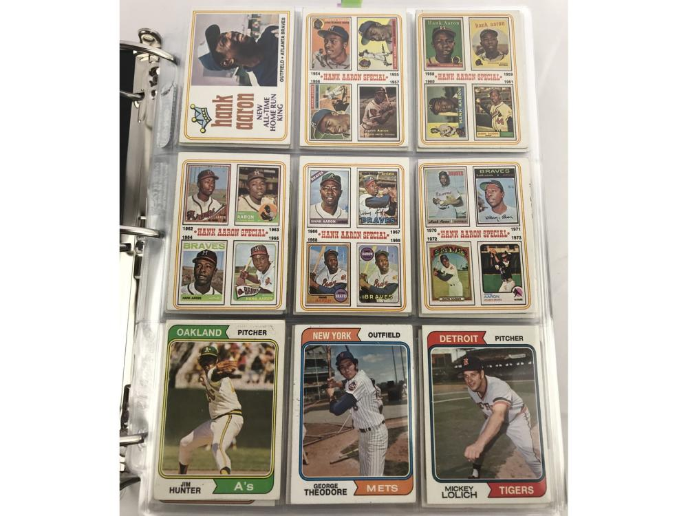 1974 Topps Baseball Complete Set-winfield Rc