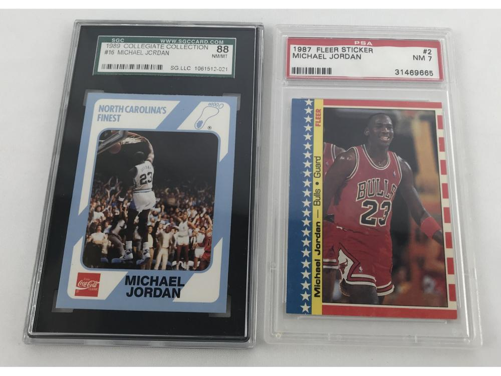 (170) Michael Jordan Collection 80s/90s