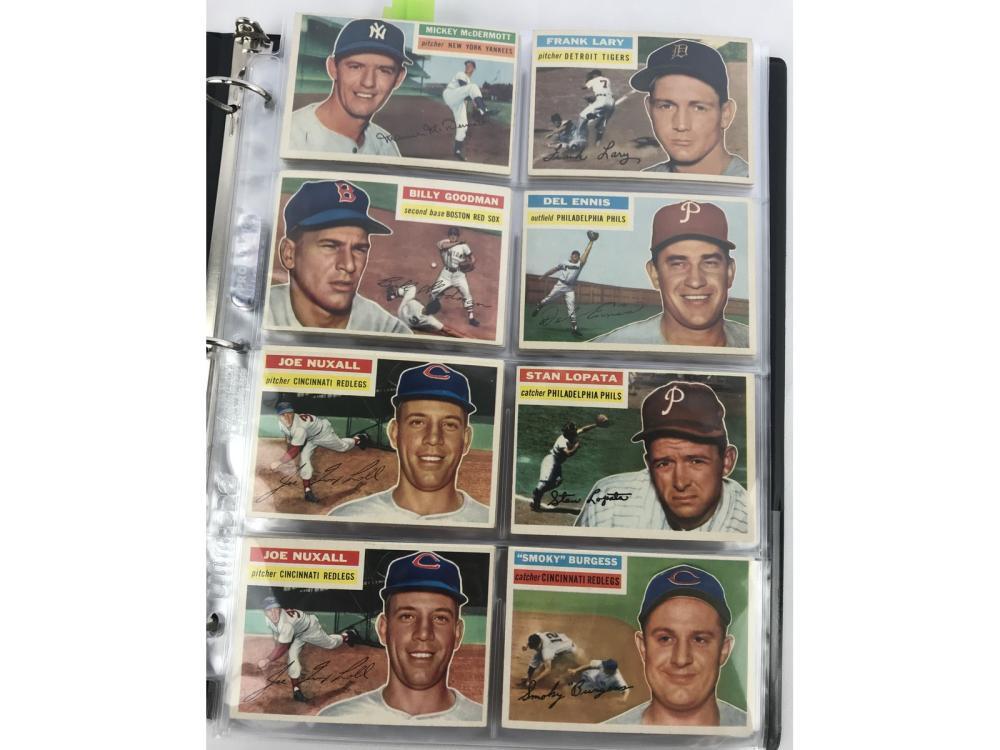 (98) Exmt 1956 Topps Baseball Bv $1,343