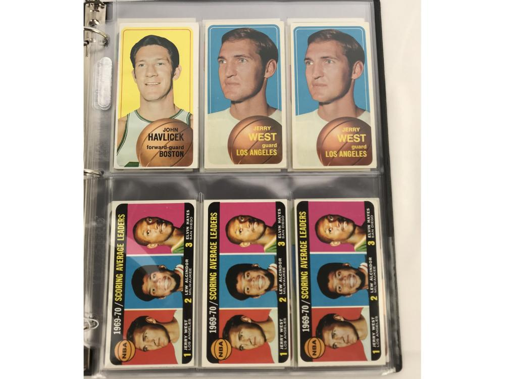 (36) 1970 Topps Basketball Stars Bv $942