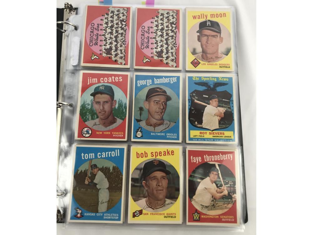(150) (exmt) 1959 Topps Bv $1,213 (high #s)