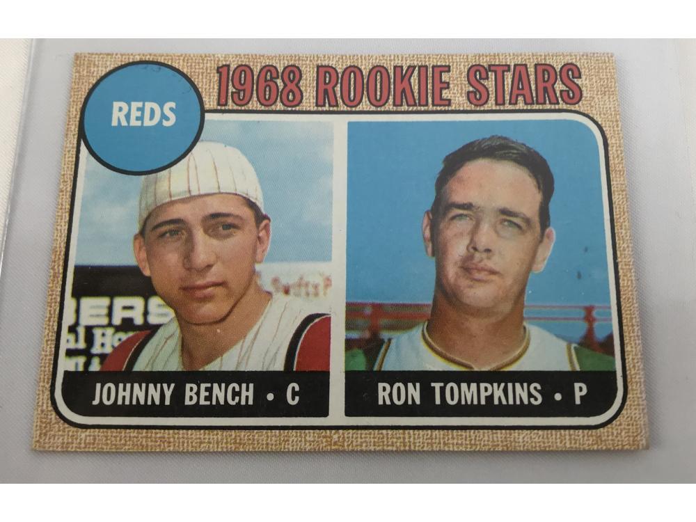 1968 Topps Johnny Bench Rc Bv $120