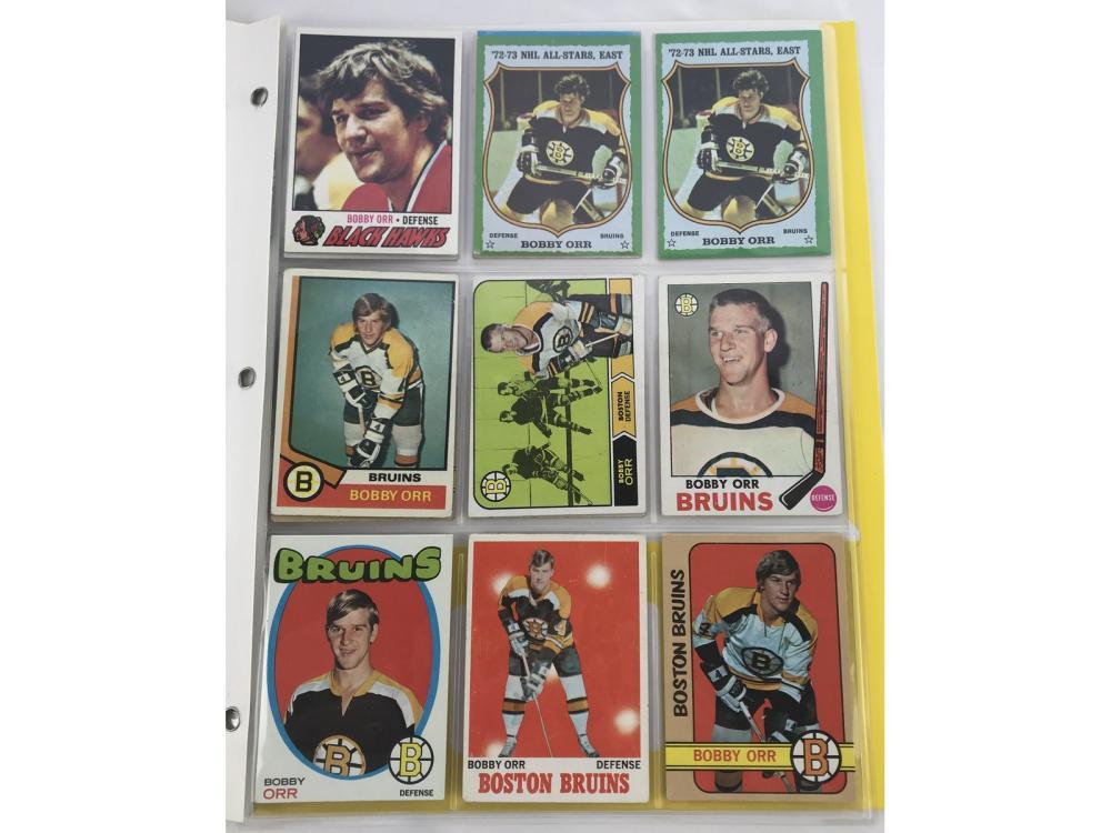 (14) Bobby Orr Collection Bv $717
