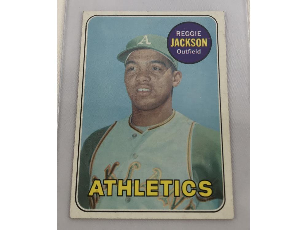 1969 Topps Reggie Jackson Rc Bv $300