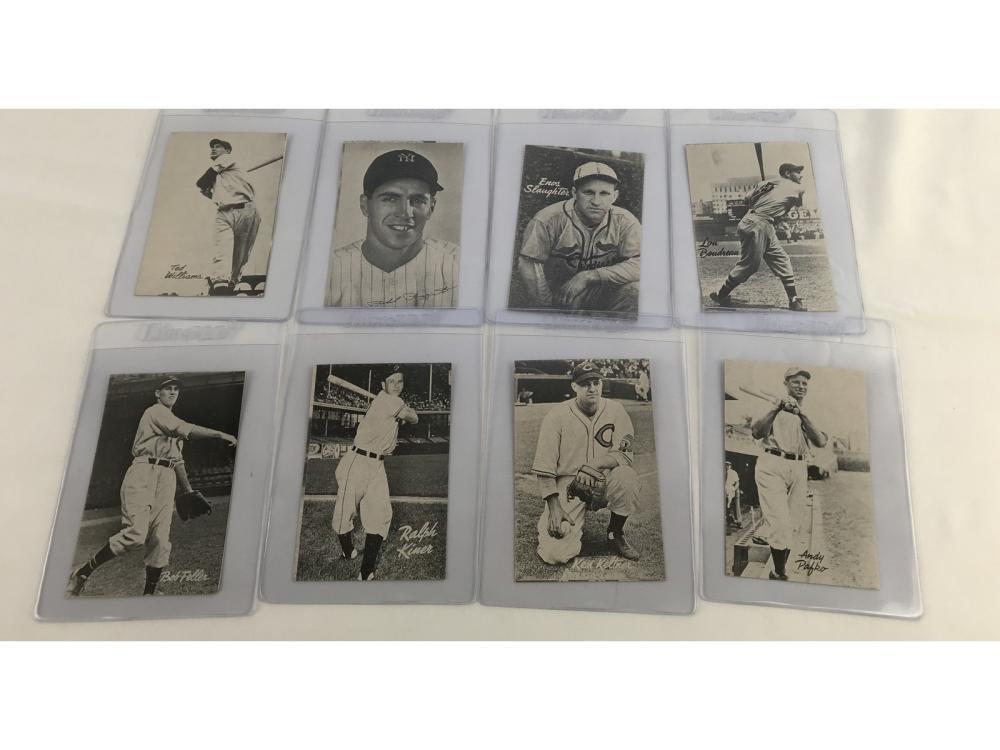(20) 1947 Bond Bread Baseball (ted Williams)