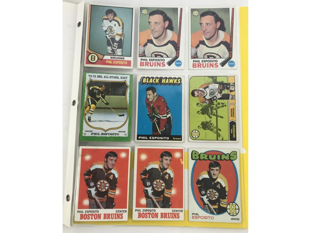 (9) Phil Esposito Group Bv $562 (rookie)