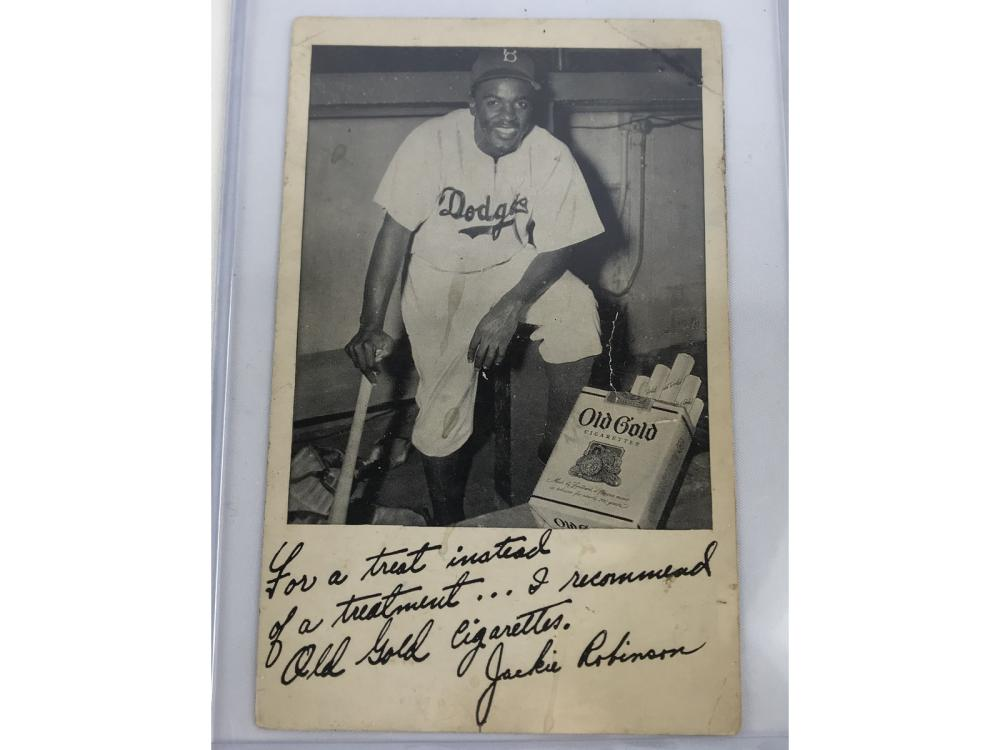 1948 Old Gold Cigarettes Jackie Robinson
