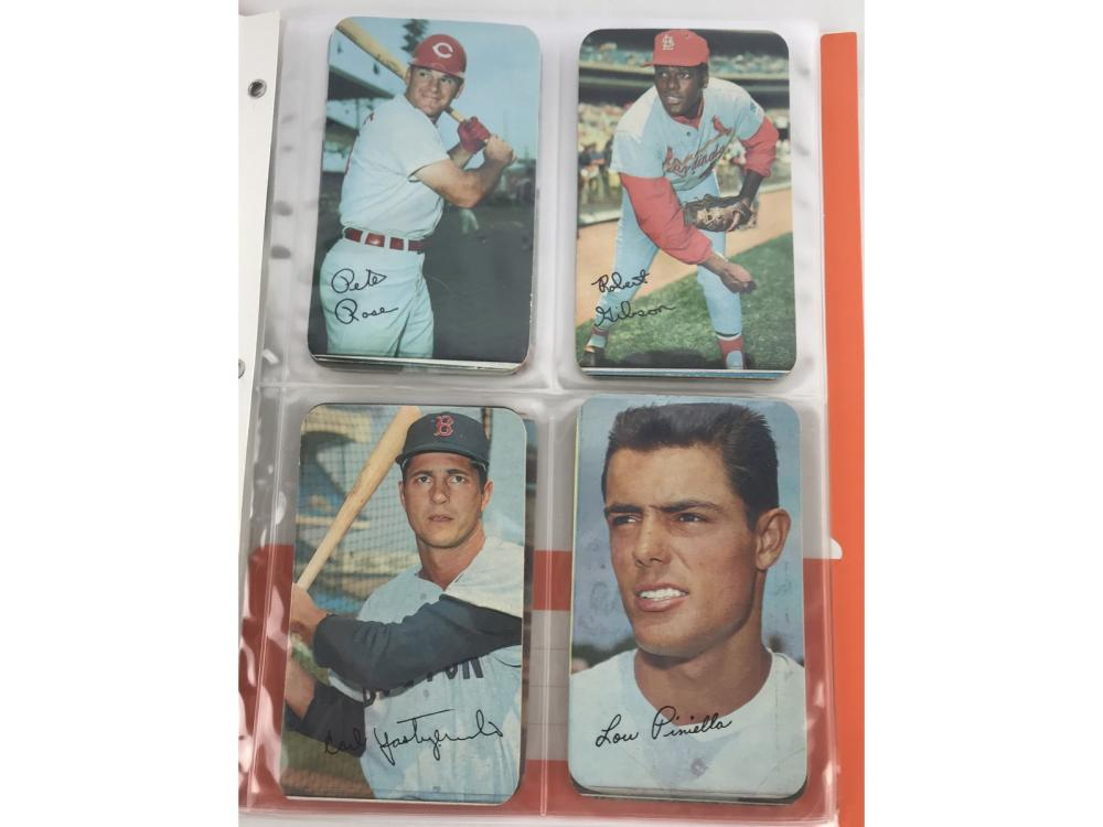 (12) 1970 Topps Super Cards-(pete Rose)