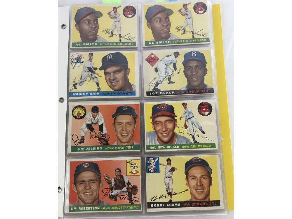 (80) (ex) 1955 Topps Bv $1,478