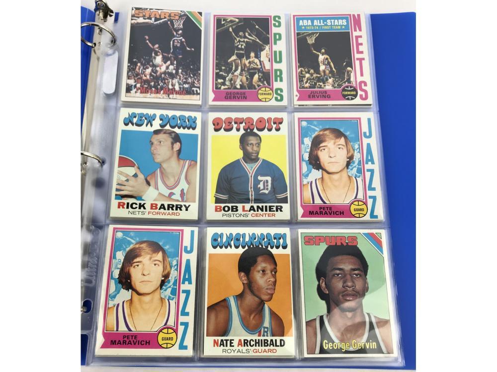 (54) 70s Basketball Hof/stars/rc Bv $800