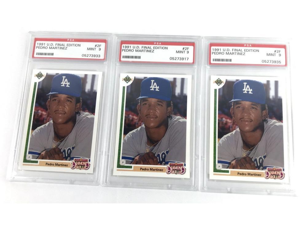 (45) Pedro Martinez Collection (rookies)