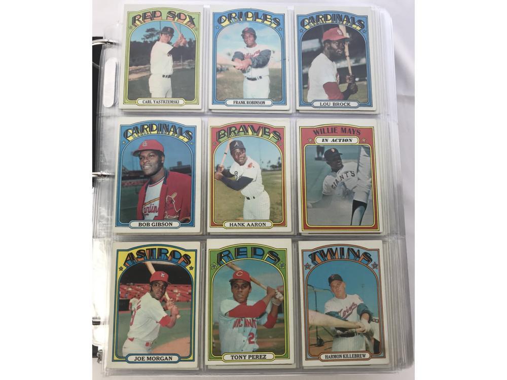 1448 1972 Topps Baseball Cards
