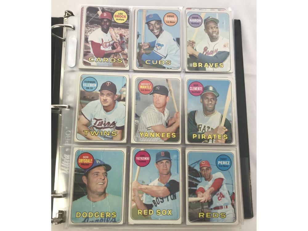 458 1969 Topps Baseball Cards