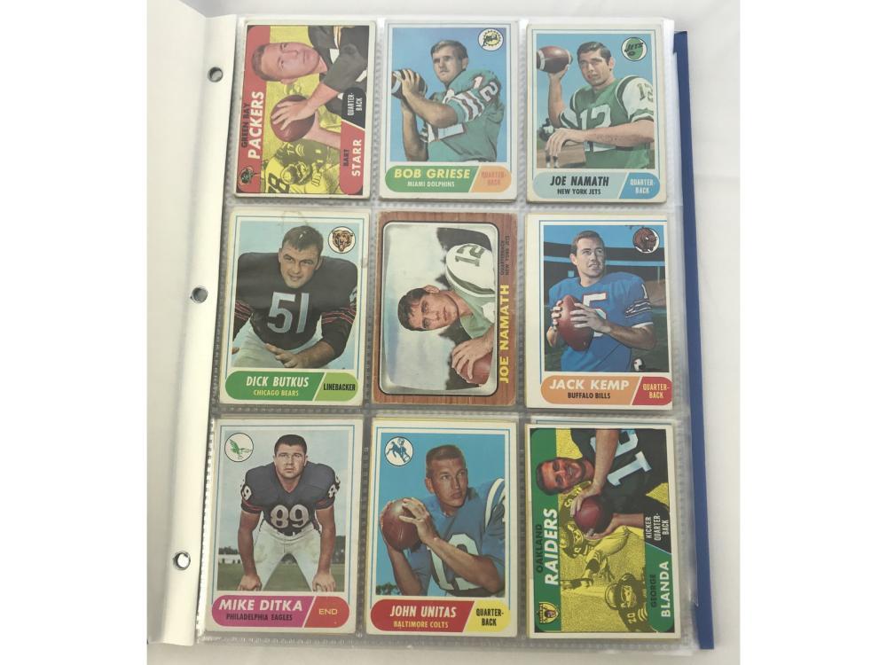 130 1964-1968 Football Cards