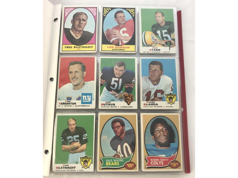 143 1967-1971 Football Cards