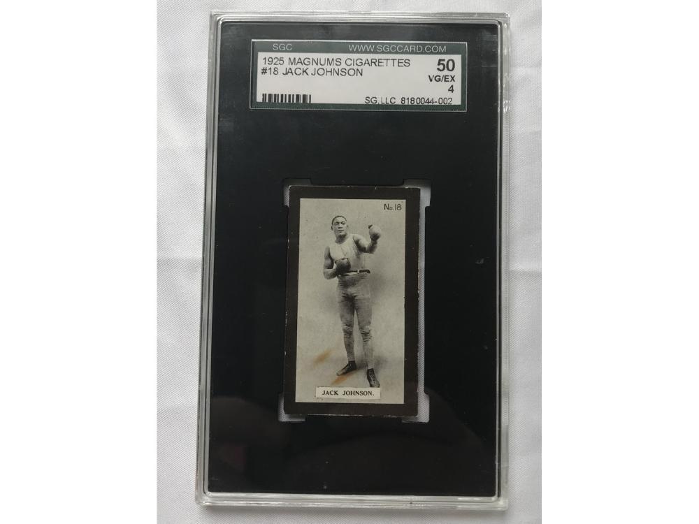 1925 Magnums Cigarettes Jack Johnson