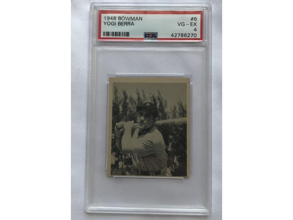 Psa 4 - 1948 Bowman Baseball Yogi Berra Rc