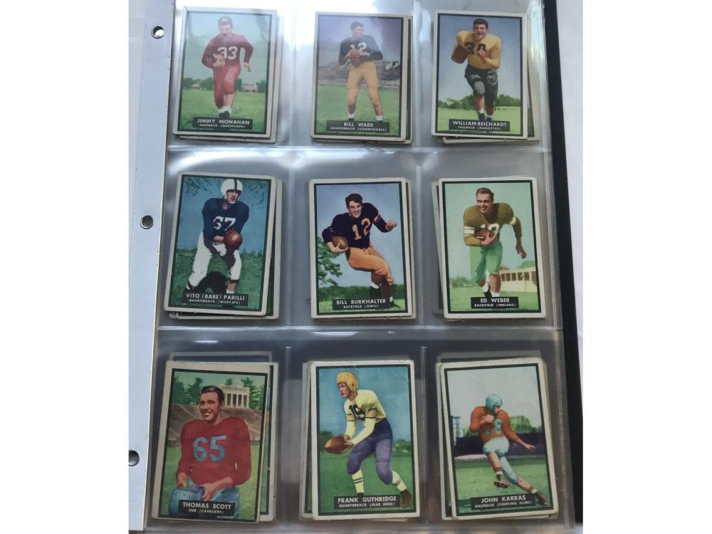 1951 Topps Magic Football Complete Set