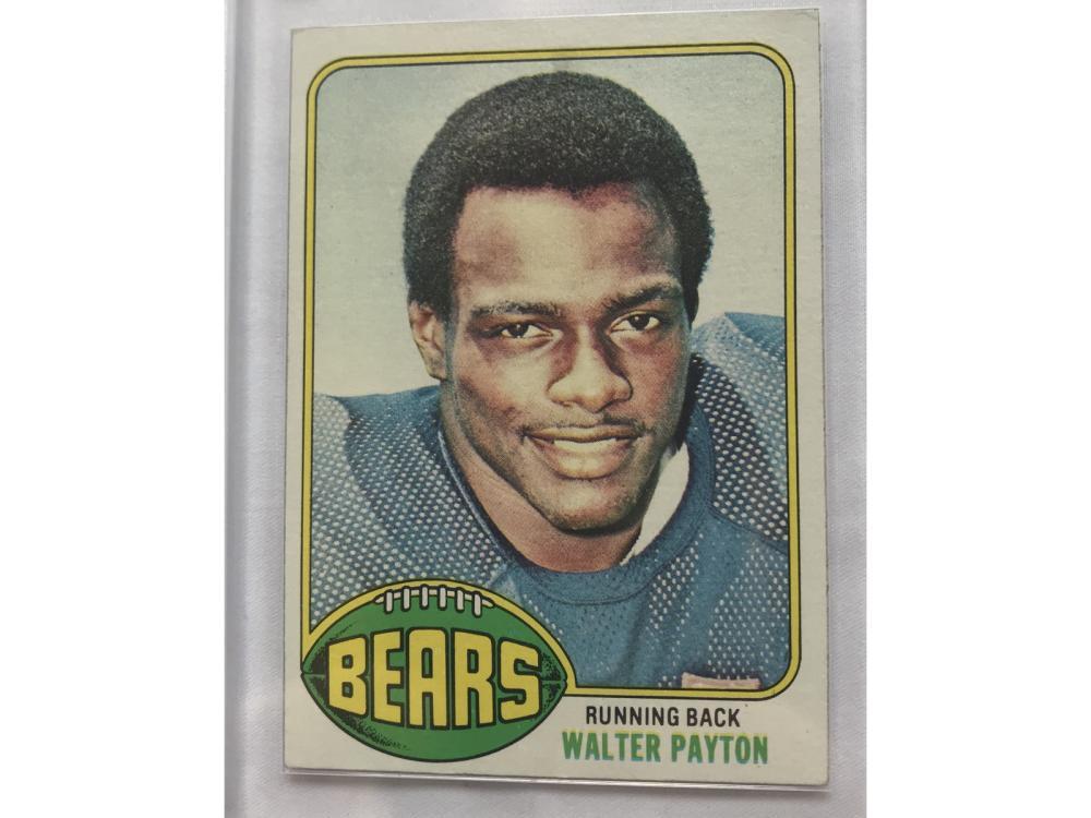 1976 Topps Football Walter Payton Rc