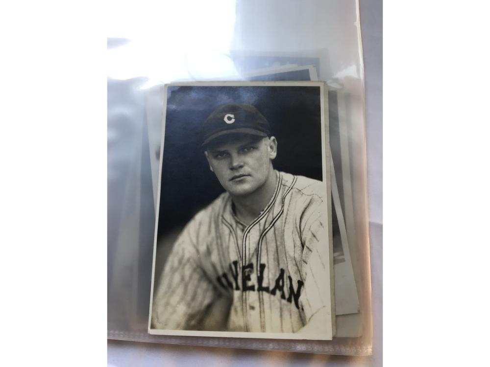 (14) Original George Burke Baseball Photos