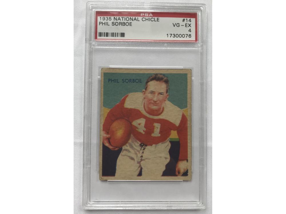 1935 National Chicle Phil Sorboe Psa 4