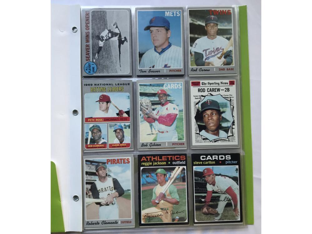 (54) 1970s Topps Baseball - All Hofs