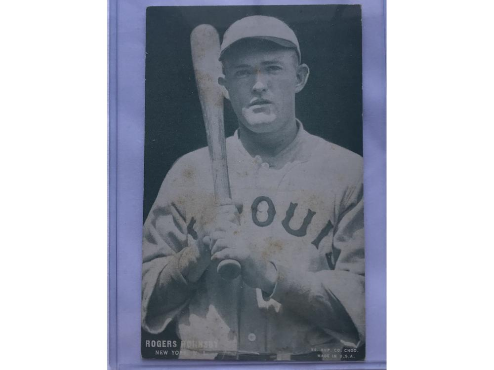 1927 Baseball Exhibit (green) Roger Hornsby