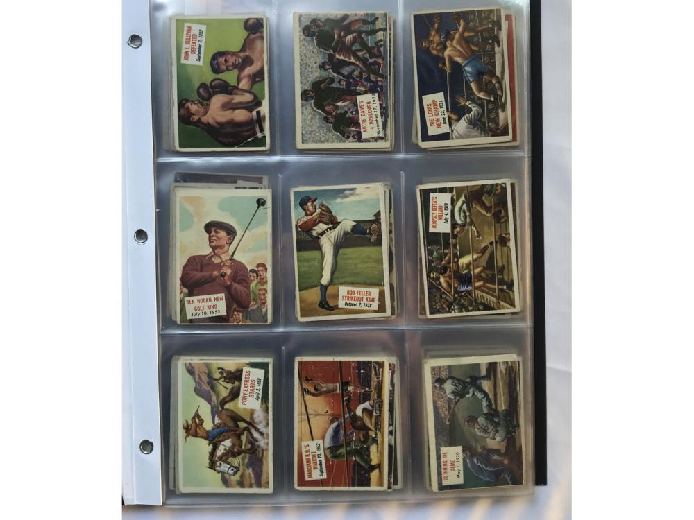 (126/156) 1954 Topps Scoops Partial W/ Keys