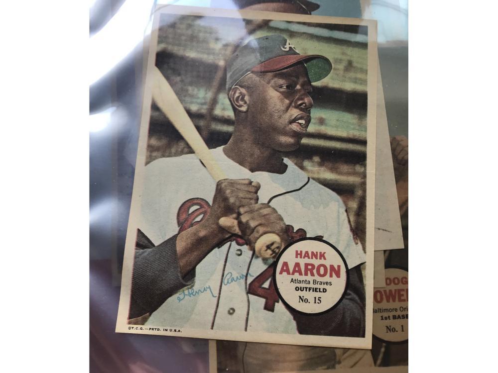 (15) 1967 Topps Baseball Posters W/ Hofs
