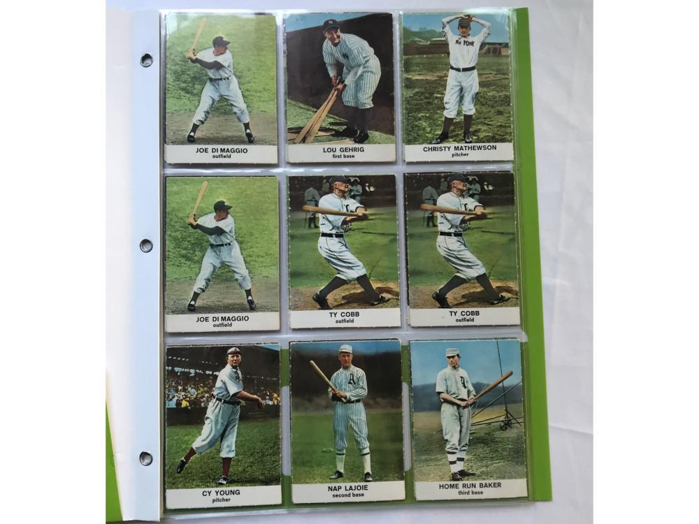 (22) 1961 Golden Press Baseball W/ Hofs