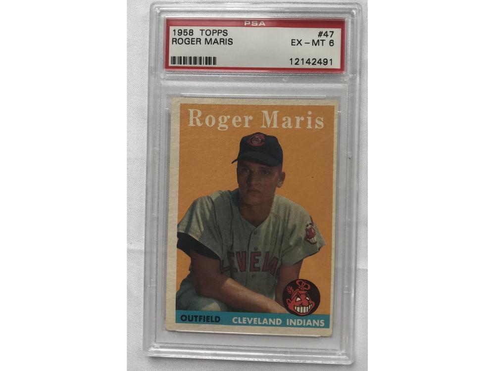 1958 Topps Roger Maris Rookie Psa 6