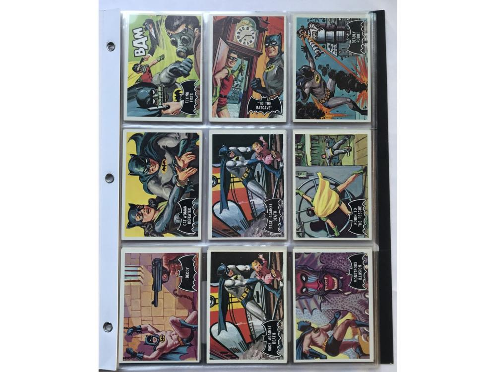 "(39) High Grade 1966 Topps ""black Bat"" Cards"