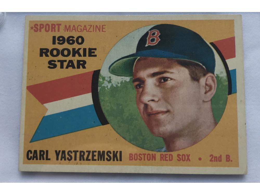 1960 Topps Baseball Carl Yastrzemski Rookie