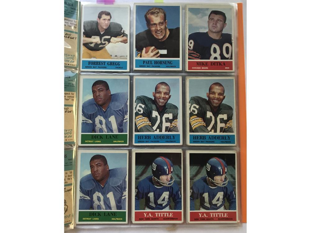 (86) 1964 Philadelphia Football Hofs/rcs