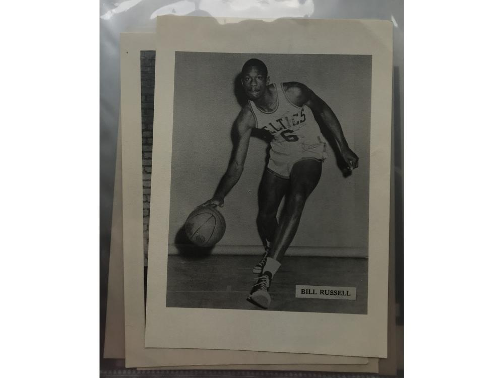 50s Celtics Picture Pack W/ Envelopes (russell)