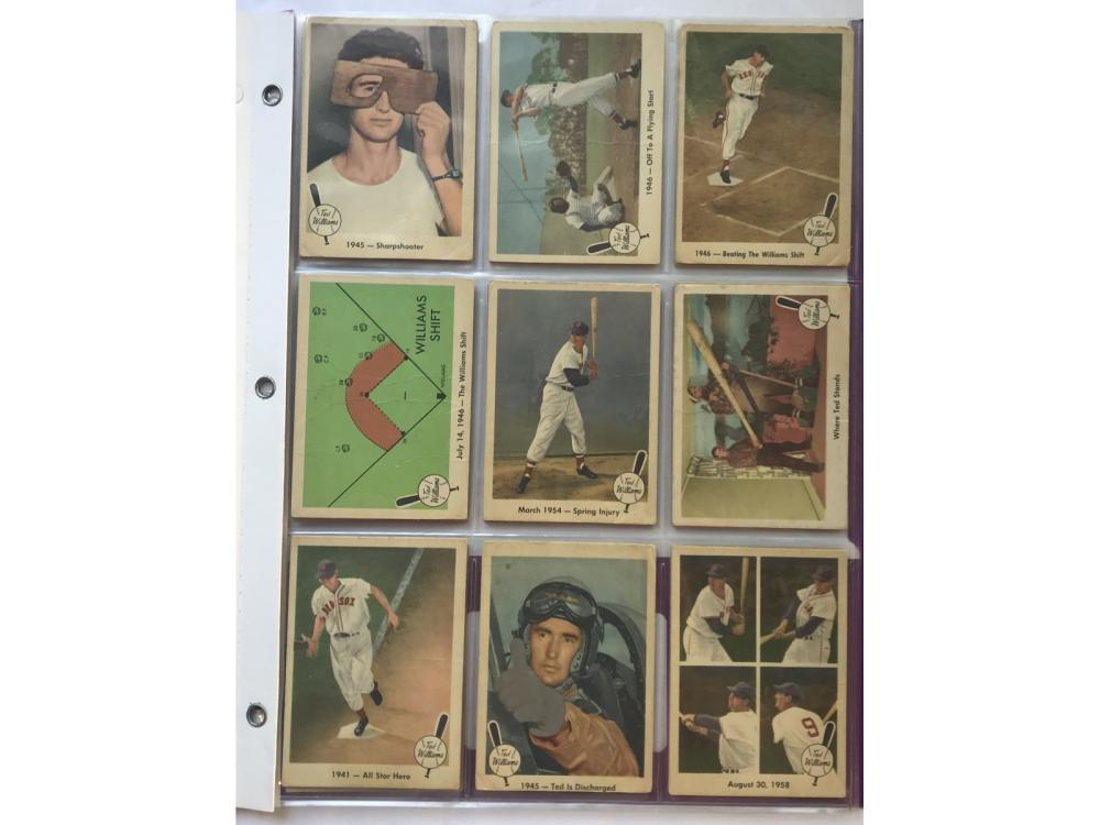 (25) 1959 Fleer Ted Williams Cards