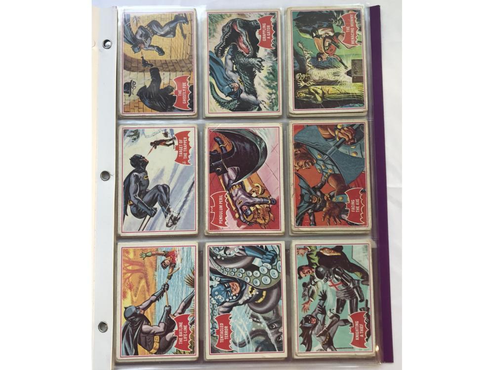 1966 Topps Batman Puzzle Complete Set