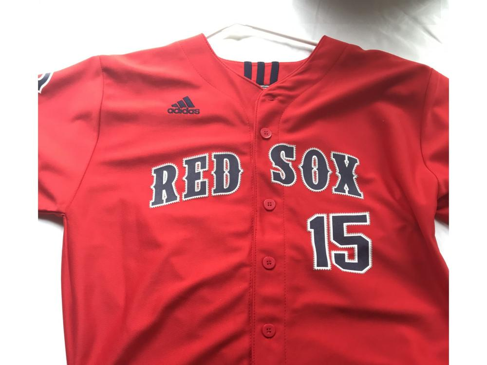 Dustin Pedroia Addidas Red Sox Jersey New