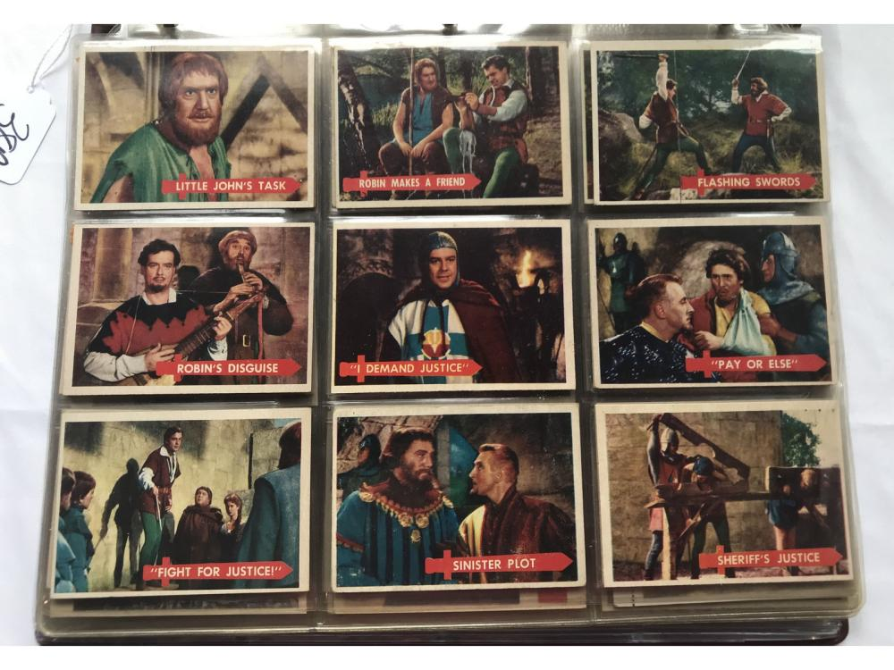 84 Non Sports Cards Robin Hood, Goudey Plates