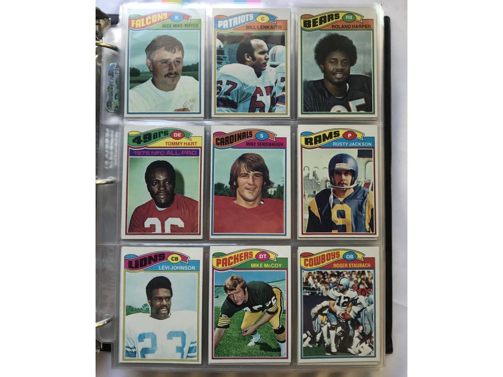 1977 Topps Football Complete Set (largent Rc)