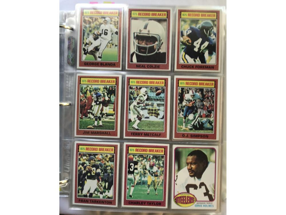 1976 Topps Football Complete Set (payton Rc)