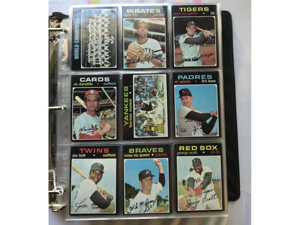 1971 Topps Baseball Complete Set