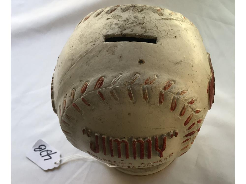 1940s Boston Braves Baseball Jimmy Fund Bank