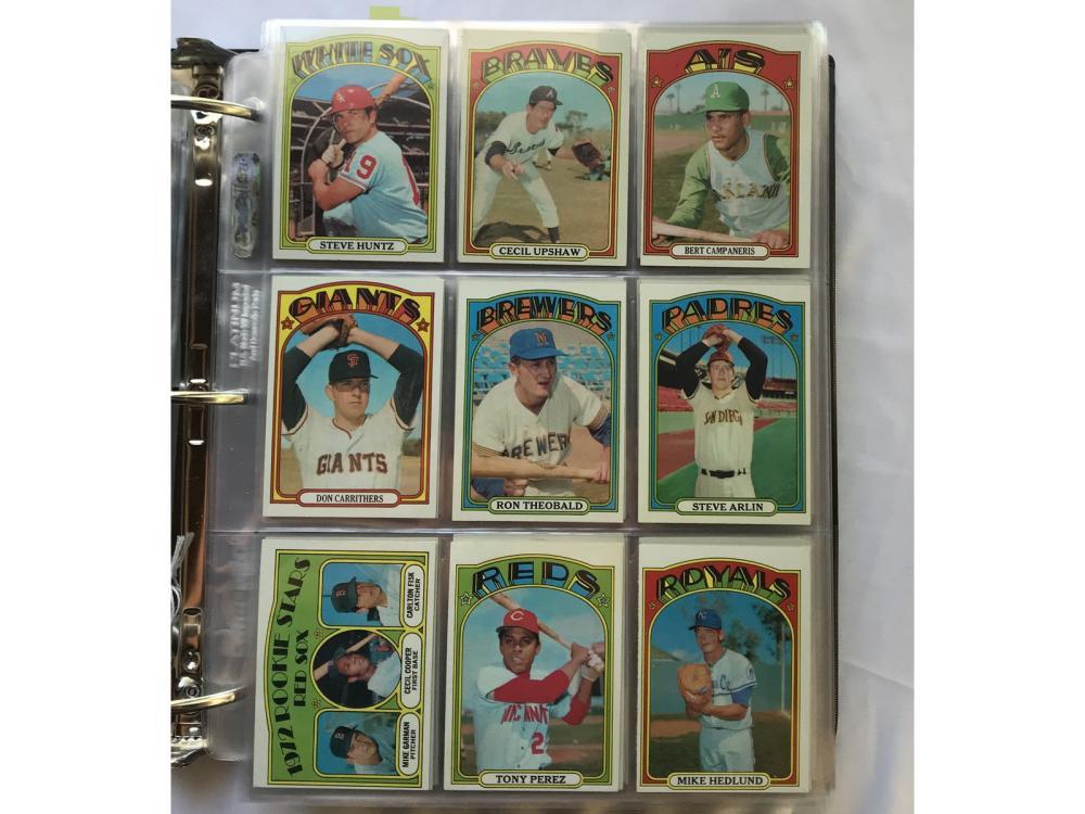 (1972 Topps Baseball Complete Set