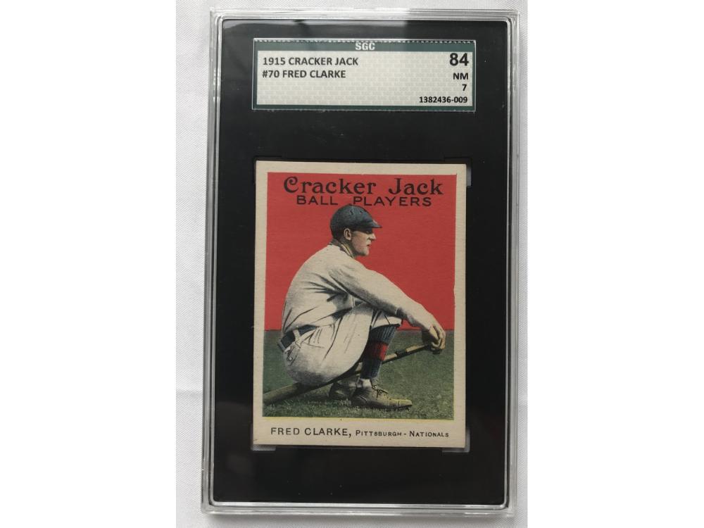 1915 Cracker Jack Fred Clarke Sgc 7