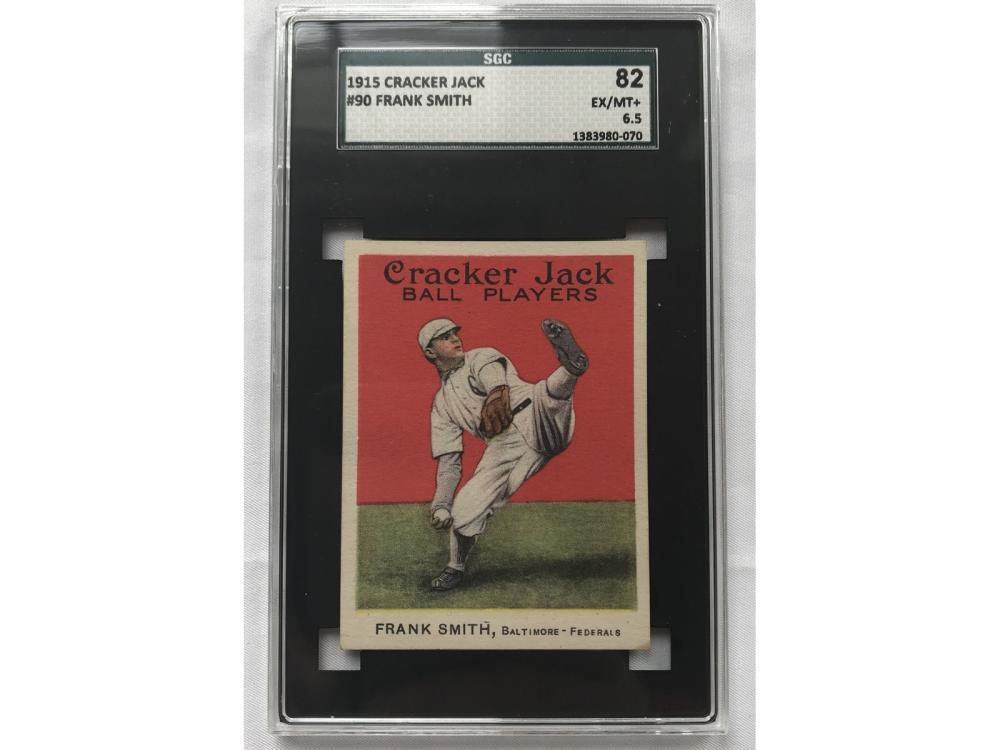 1915 Cracker Jack Framk Smith Sgc 6.5