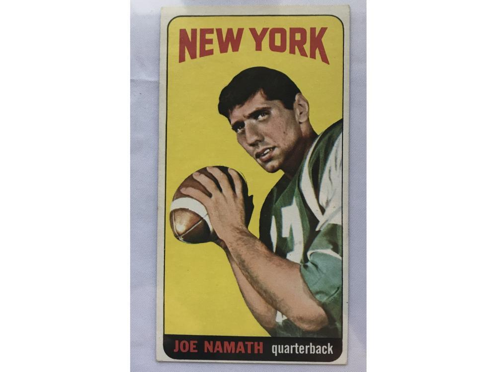1965 Topps Football Complete Set (namath Rc)